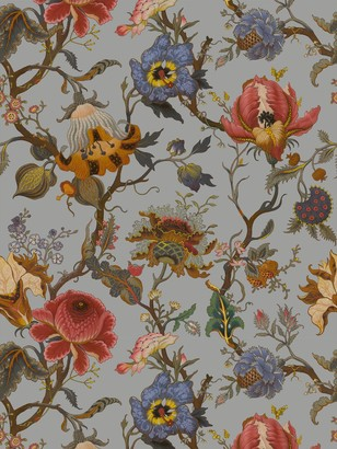 House of Hackney Artemis Dove Grey Wallpaper