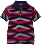 Toobydoo Milo Striped Polo (Toddler & Little Boys)