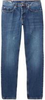 Dries Van Noten Pender Slim-Fit Distressed Denim Jeans