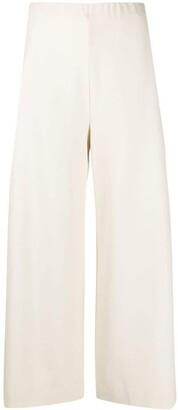 Harris Wharf London Wide-Leg Cropped Trousers