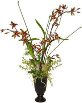 The French Bee 28 Orchid Arrangement in Vase, Faux