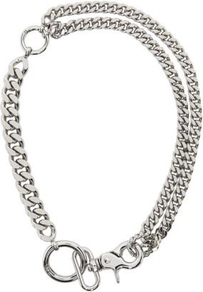 MM6 MAISON MARGIELA Silver Chain Necklace