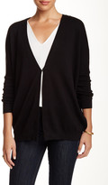 Joan Vass Single Button Cardigan