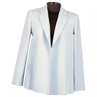 Max Mara Atelier Blue Wool Jackets