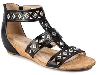 Andrew Geller Ideana Wedge Sandal