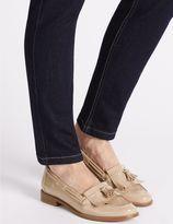 Marks and Spencer Block Heel Tassel Loafers