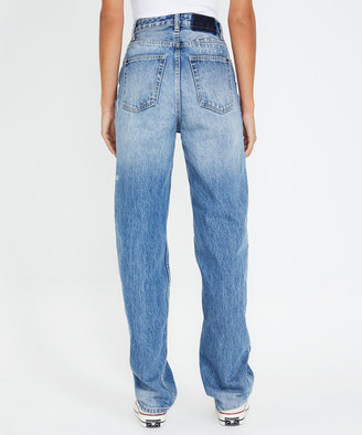 Ksubi Playback Jeans Slashed Tru Vintage Blue