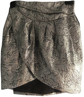 Isabel Marant Pour H&m Silver Skirt for Women