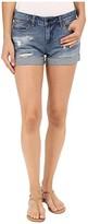 Blank NYC Denim Cuffed Distressed Shorts in Weekend Warrior (Blue) Women's Shorts