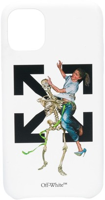 Off-White Pascal Skeleton iPhone 11 case