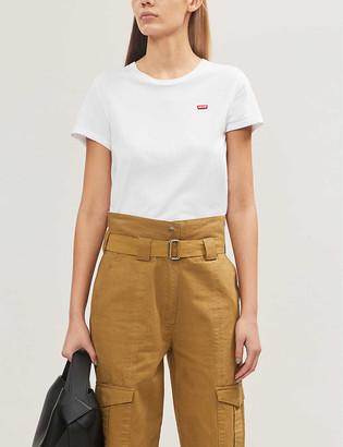Levi's Perfect logo-print cotton-jersey T-shirt