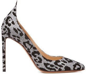 Francesco Russo Leopard pumps
