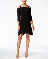MSK Cold-Shoulder Shift Dress