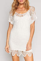 Amuse Society Honora Crochet Dress