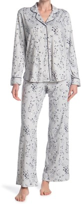 Shimera Brushed Long Sleeve Shirt & Pants 2-Piece Pajama Set