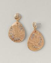 Sea urchin earrings