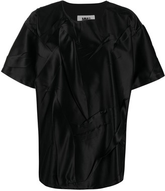 MM6 MAISON MARGIELA Crinkled Oversize Top