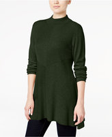 Style&Co. Style & Co. Mock-Turtleneck Ribbed Sweater, Only at Macy's
