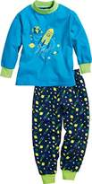 Playshoes Boy's Single Jersey Space Pyjama Set,(Manufacturer Size:3-/104 cm)