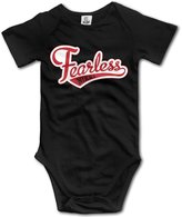 Baby Onesies Unisex Baby Short Sleeve Nikki Bella Fearless Nikki Onesies