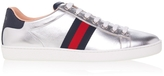Gucci Ace Metallic Leather Sneakers