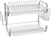 CLG-FLY Double drain Bowl rack/Spice rack in the kitchen chopsticks