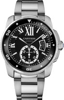 Cartier Calibre De W7100057 Men's Stainless Steel Watch Chronograph