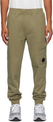 C.P. Company Green Cargo Lounge Pants