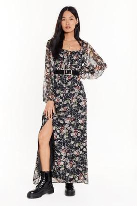 Nasty Gal Womens High 'N Dry Ruched Mini Dress - Black