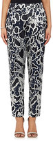 Derek Lam 10 Crosby WOMEN'S LEOPARD BURNOUT GEORGETTE PANTS