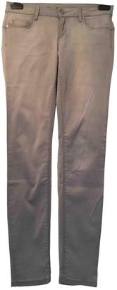 Liu Jo Liu.jo Grey Cotton - elasthane Jeans for Women