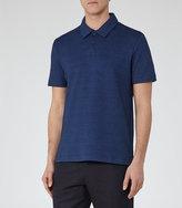 Reiss Anton Textured Polo Shirt