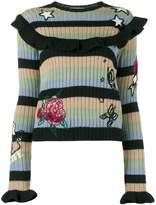 Valentino embroidered jumper