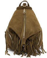 Rebecca Minkoff Fringe Medium Green Julian Backpack