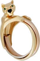 Cartier Panthére Trinity 18k Triple Band Ring, Size 7