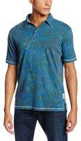 Margaritaville Men's Short-Sleeve Six String Polo Shirt