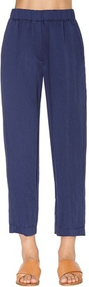 Forte Forte High Waist Washed Viscose Pants
