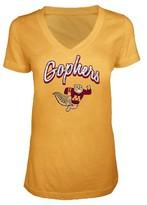NCAA Minnesota Golden Gophers Women's V-Neck T-Shirt