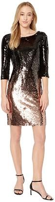 BB Dakota Ombre You Stay Sequin Dress