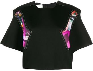 Maison Margiela cropped oversized T-shirt