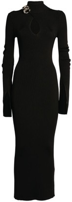 Alexander Wang Rollneck Chain Dress