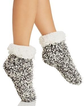 Cejoli Cuffed Knit Slipper Socks
