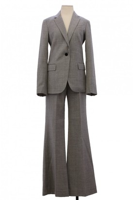 Theory Grey Wool Trousers for Women