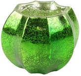 HomArt Antique Green Mercury Glass Tealight Holder