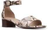 Clarks Elisa Dedra Women's Block Heel Sandals