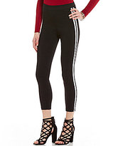 Stoosh Ankle Length Woven Stretch Track Pants