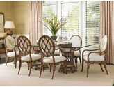 """Tommy Bahama Home Bali Hai 7 Piece Dining Set Home Size: 29"""" H x 21.5"""" W x 21.5"""" D"""