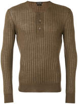 Tom Ford superfine long sleeved henley