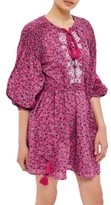 Topshop Women's Floral Smock Dress
