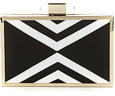 Kate Landry Geometric Frame Clutch